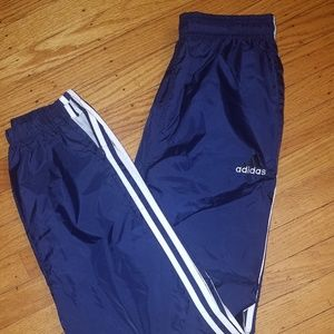 Adidas Track Pants Joggers Wind Pant Nylon | S